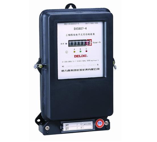 DXS607-3、DXS607-4 型三相四线电子式无功电能表