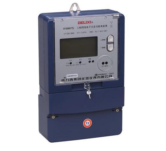 DTSD607、DSSD607 型三相电子式多功能电能表