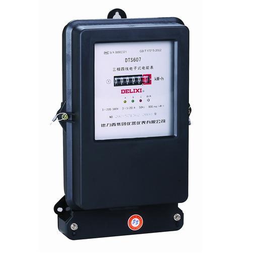 DTS607、DSS607 型三相电子式电能表