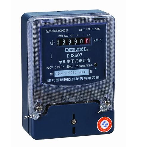 DDS607 型单相电子式电能表