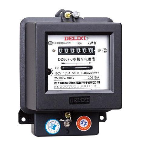 DD607 型单相电能表