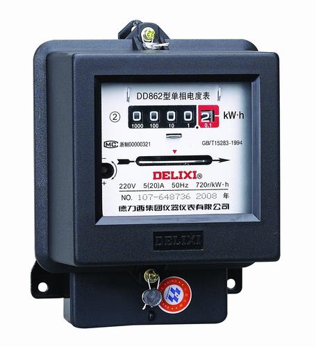 DD862 型单相电度表