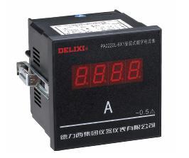 P□2222□-6X1 型安装式数字显示电测量仪表